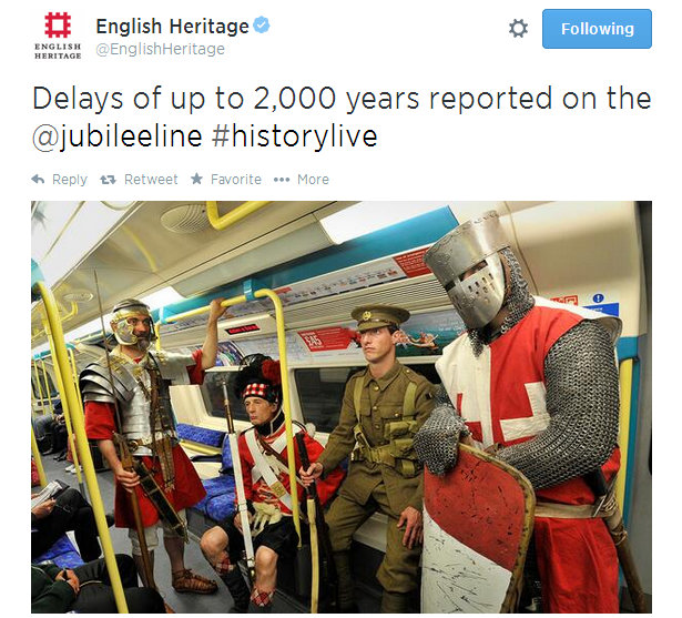 Twitter  EnglishHeritage Delays of up to 2,000 years ... - Google Chrome 05072014 221540