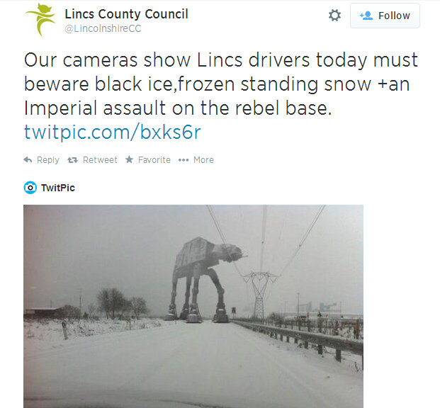 Twitter  LincolnshireCC Our cameras show Lincs drivers ... - Google Chrome 05072014 221130