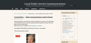 Communicators web Resource screenshot